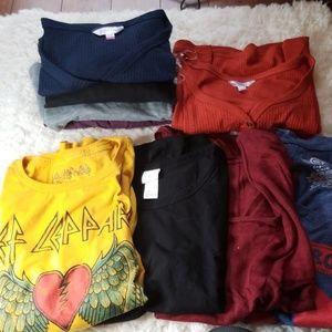 T-shirt Bundle 10 Medium & Large